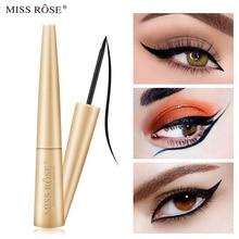 MISS ROSE Professional Waterproof Liquid Eyeliner Beauty Cat Style Black Long-lasting Eye Liner Pen Pencil Makeup Cosmetics все цены