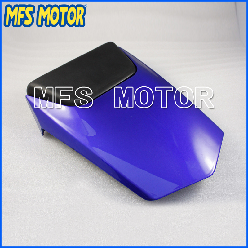 For YZF-R1 Motorcycle Rear Pillion Blue Injection ABS Seat Cowl Cover For Yamaha YZF-R1 2000-2001