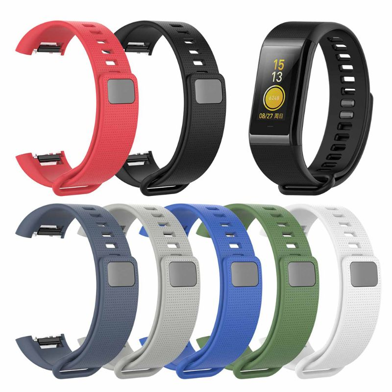 New Silicone Replacement Band Wrist Strap For Xiaomi <font><b>Huami</b></font> <font><b>Amazfit</b></font> <font><b>Cor</b></font> A1702 English version <font><b>Midong</b></font> Band Smart Wristband qiang image