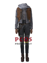 Rogue One: A Star Wars Story heroine Jyn Erso Coaplay Costume & Shoes mp003532