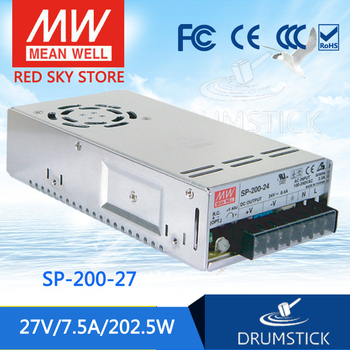 prosperity MEAN WELL SP-200-27 27V 7.5A meanwell SP-200 27V 202.5W Single Output with PFC Function Power Supply