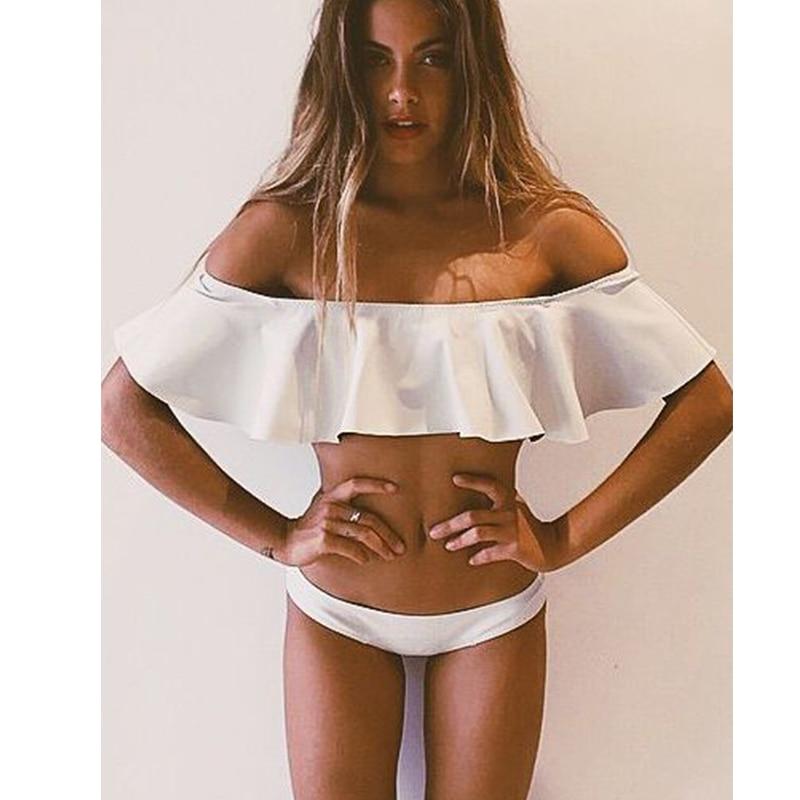 NAKIAEOI 2018 Sexy Bandeau Bikinis Women Swimsuit Brazilian Bikini Set Beach Bathing Suit Push Up Swimwear Hot Biquini Swim Wear 4