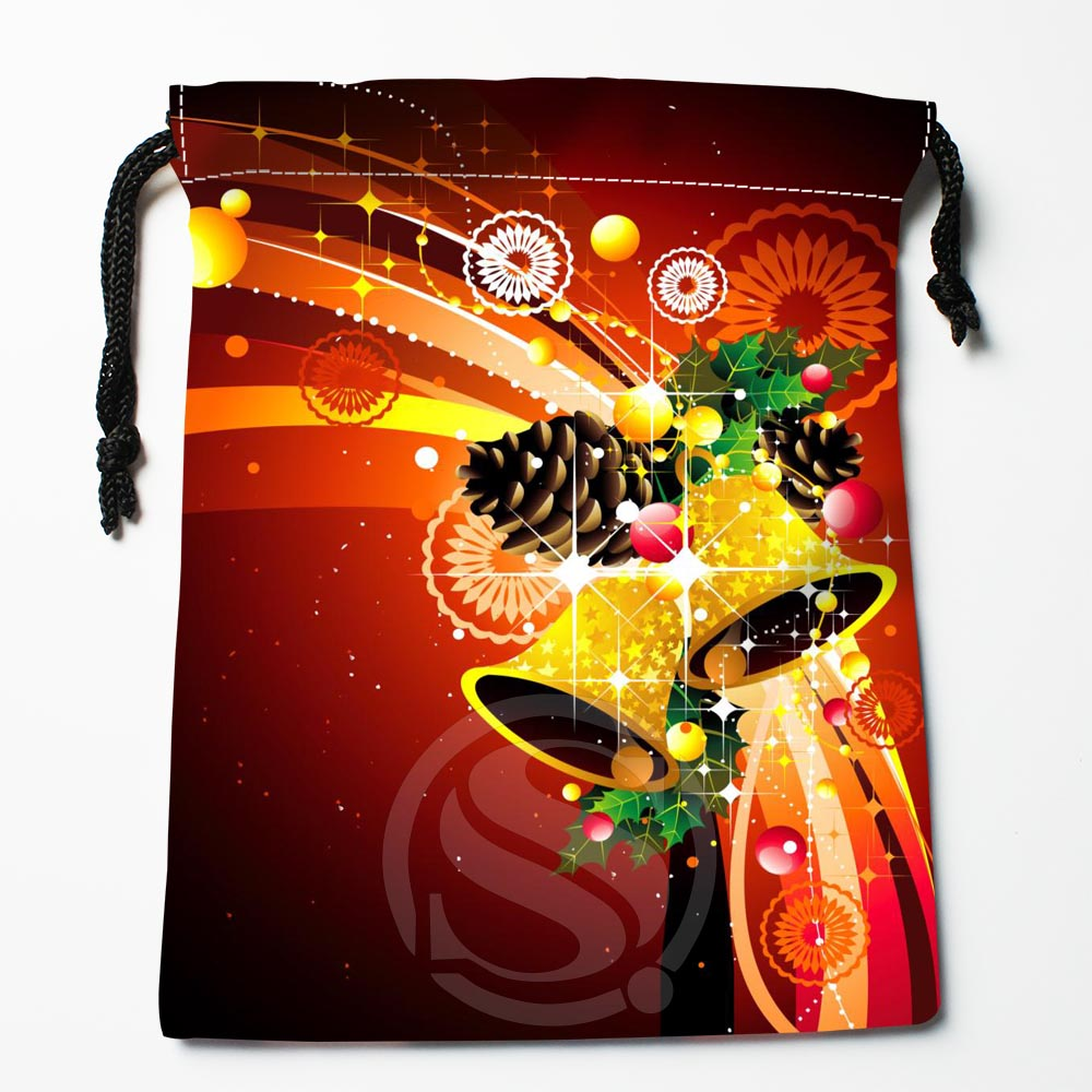TF&60 New Christmas Gift #32 Custom Printed Receive Bag Bag Compression Type Drawstring Bags Size 18X22cm &812#60