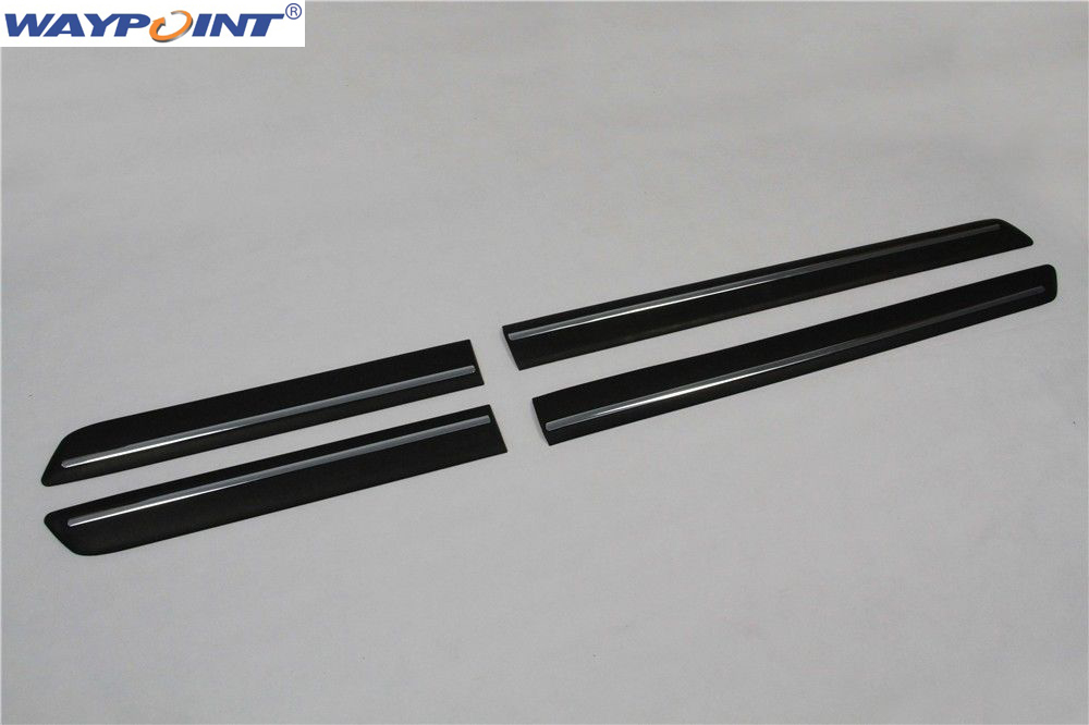 For Land Rover Discovery 4 LR4 2010 2016 door side sill trim Nerf bar protection