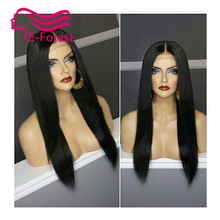 Brazilian Unprocessed virgin full lace front lace human hair wigs glueless straight with Natural baby hair free shipping