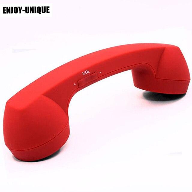 Bluetooth レトロな電話電話レシーバ携帯電話用サムスン華為 Xiaomi クラシックヘッドホンマイクマイク
