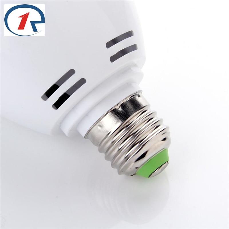 ZjRight E27 LED yüngül Dəyişən rəngli 3W RGB Kristal Dönən - Ticarət işıqlandırması - Fotoqrafiya 4