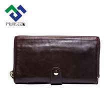 MURSEEN 2017 New Leather wallet Card holder leather Coin Purse men's genuine leather Coin-operated Men's wallets Purse for men