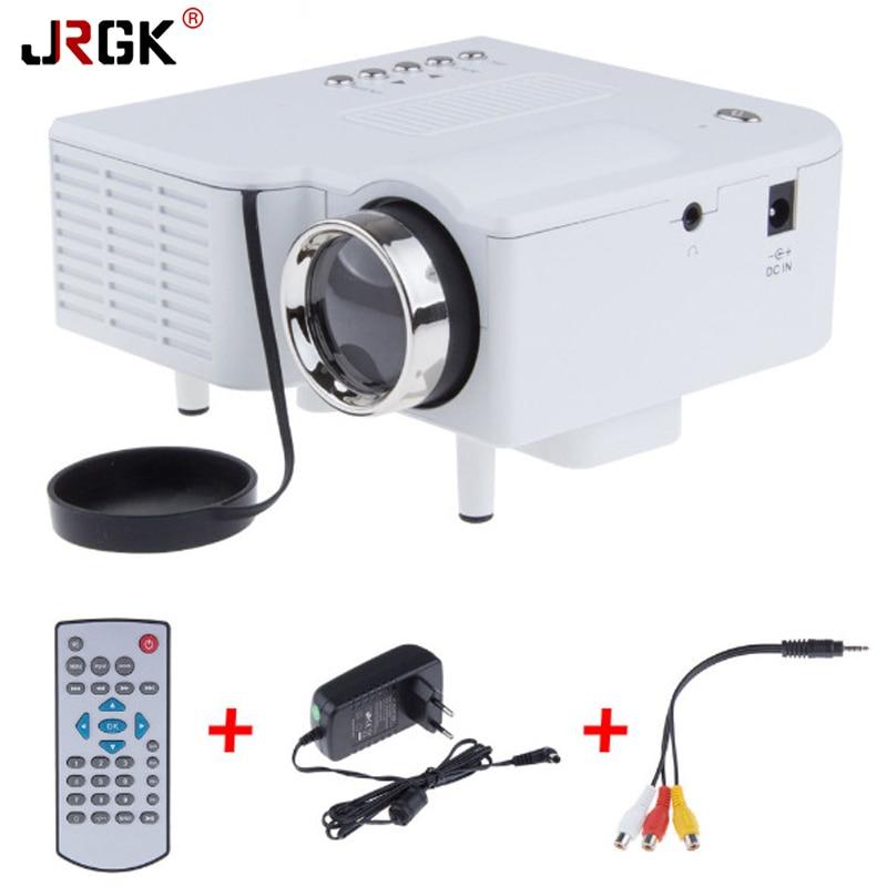 UC28 Plus Portable LED Projector Home Cinema Theater PC/Laptop VGA/USB/SD/AV/HDMI Input Mini Digital Video Projector