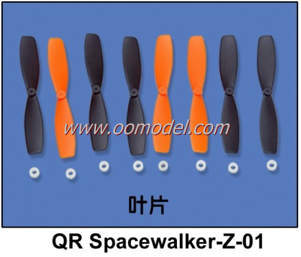 Walkera QR Spacewalker teile QR Spacewalker-Z-01 propeller spacewalker klingen Kostenloser Versand mit Tracking