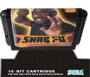 Shaq Fu - 16 bit MD Games Cartridge For MegaDrive Genesis console