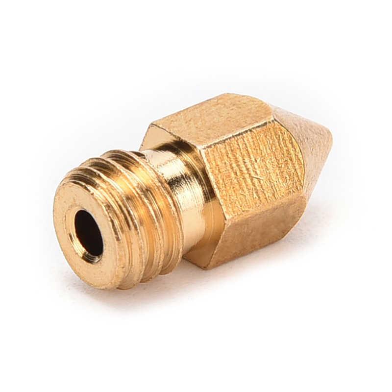0.2/0.3/0.4/0.5 MM 3D Printer Kuningan Nozzle MK8 Extruder Threaded Print Head untuk 1.75/ 3 Mm ABS PLA Printer 3D Printer Bagian