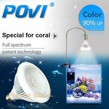 Povi Аквариум Светодиодное Освещение Полный Спектр led Коралловый