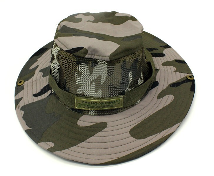 752a908aaed56 Fishing Hat Men Camouflage Black Shade Waterproof Bucket Hat Mountaineering  Jungle Hat Bucket Hats-in Fishing Caps from Sports & Entertainment on ...