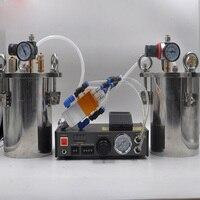 Double Liquid Dispenser AB Automatic Filling Machine 5L Stainless Steel Pressure Barrel Carbon Steel Pressure Barrels MY 2000