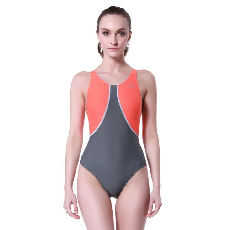 Sport Blue Patchwork Monokini Swimsuits Backless Әйелдер - Спорттық киім мен керек-жарақтар - фото 5