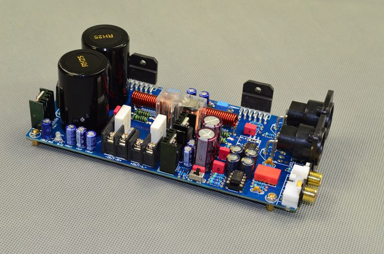 P2 AC 24V-0-24V 68W + 68W LM3886 dual channel hifi fever finished power amplifier board