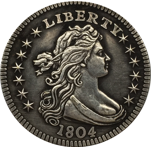1804 Draped Bust Quarters COIN COPY FREE SHIPPING