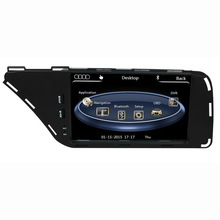 7″ HD Capacitive Touch Screen Car DVD Player GPS Navigation for Audi A4 B7 2009 2010 2011 2012 2013 2014 2015 Original Audi UI