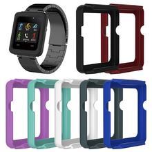 1 шт. красочные силиконовые Защитный чехол Рамка Замена корпуса для Garmin Vivoactive умные часы Высокое качество Smart case