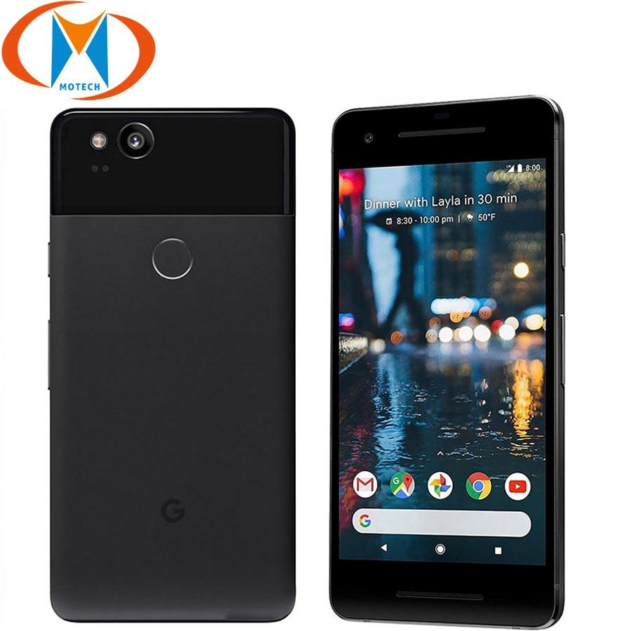 EU Version Google Pixel 2 5.0'' 4GB RAM 64GB 128GB ROM 4G LTE Smartphone Snapdragon 835 NFC Octa Core Fingerprint Mobile Phone