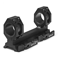 30mm Dual Ring Cantilever Scope Mount Quick Release Hunting 25/30mm Ring Tactical Riflescope Scope Mount Optical Sight Bracket