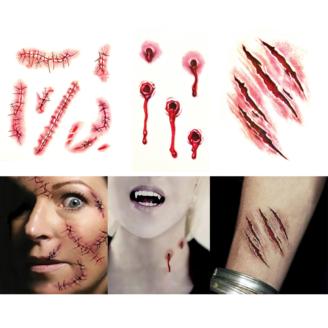 Online Buy Wholesale halloween makeup vampire from China halloween ...