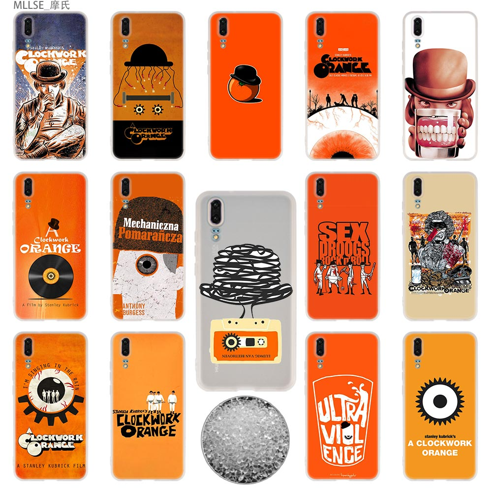 A Clockwork Orange Tpu Cover Telefoon Gevallen Zachte Voor Huawei P 20 Pro P10 Plus P9 P8 Lite 2017 P30 Pro Samrt 2019 Nova 3e