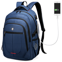Aoking Внешний USB зарядки сумка для ноутбука Полиэстер ноутбук рюкзак для мужчин и женщин водонепроницаемый рюкзак для ноутбука студентов колледжа мешок