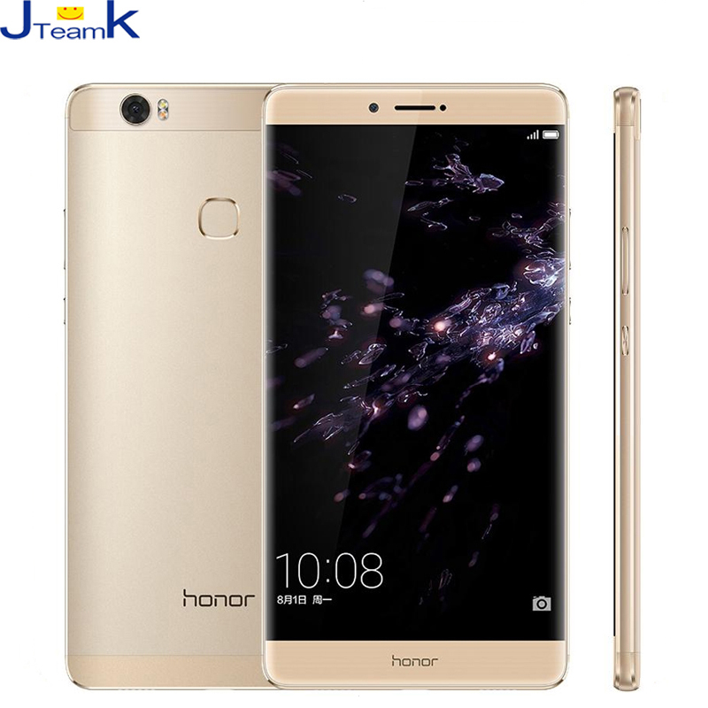 "Цена за Оригинал Huawei Honor 8 Dula 4 Г Мобильный Телефон 6.6 ""2560*1440 Экран окта основные 2.5 ГГц 4 ГБ Оперативной Памяти Металлический Корпус 4500 мАч батареи"