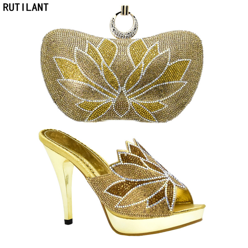 En fuchsia Talons or Africain pourpre Sacs Assorties Chaussures Dans Femmes Bleu Et Mis Sac Italien Italie Nigérian qfXxgxwIZ6