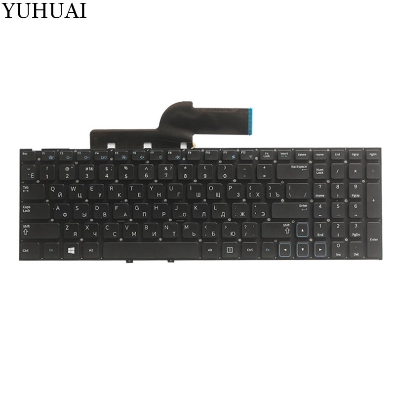 Image 2 - new!! For samsung NP NP300 NP300E5A NP305E5A NP300V5A NP305V5A 300E5X RU Russian laptop keyboard  No Frame-in Replacement Keyboards from Computer & Office on
