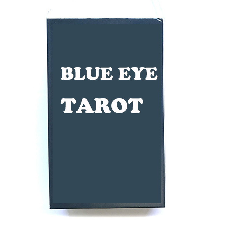 Silver Side Tarot Board Game Cards Game Full English Edition Blue Eye Tarot Board Game For Family/Friends