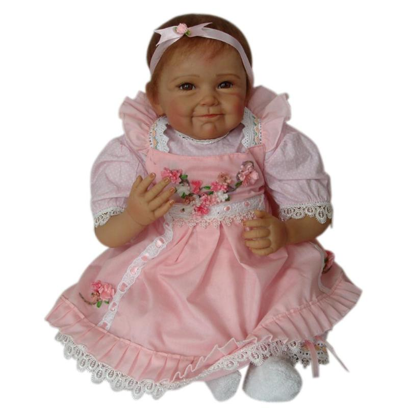 Simulation Reborn Doll Toy Baby Simulation Soft Silicone Lifelike Newborn Girl Playmate Doll For Kids Birthday Gifts 40cm sotf silicone simulation reborn baby doll kids playmate fashion soft stuffed toys gift accompany toy birthday gifts