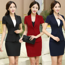 Naviu Hot Sale Summer Skirt Suits Business Clothes Short Sleeve Office Uniform For Women Plus Size Work Wear Set Buy Cheap In An Online Store With Delivery Price Comparison Specifications Photos