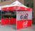 Tenda, Impressão personalizada Gazebo, 3X3 Metro de Pop up Tenda/Custom Impresso 10X10FT Trade Show Tenda Tenda/Frete grátis