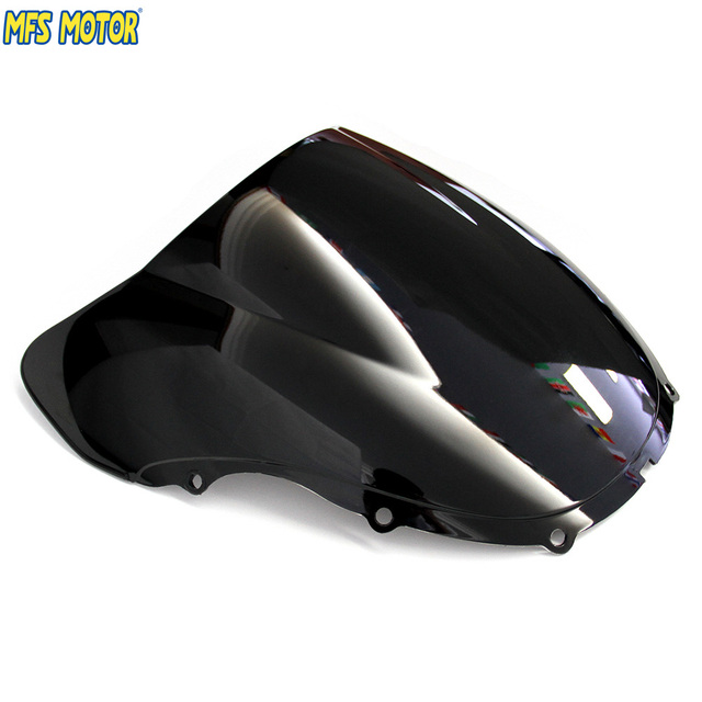 Motorcycle Windshield Windscreen Black For Honda CBR 600 F4 1999