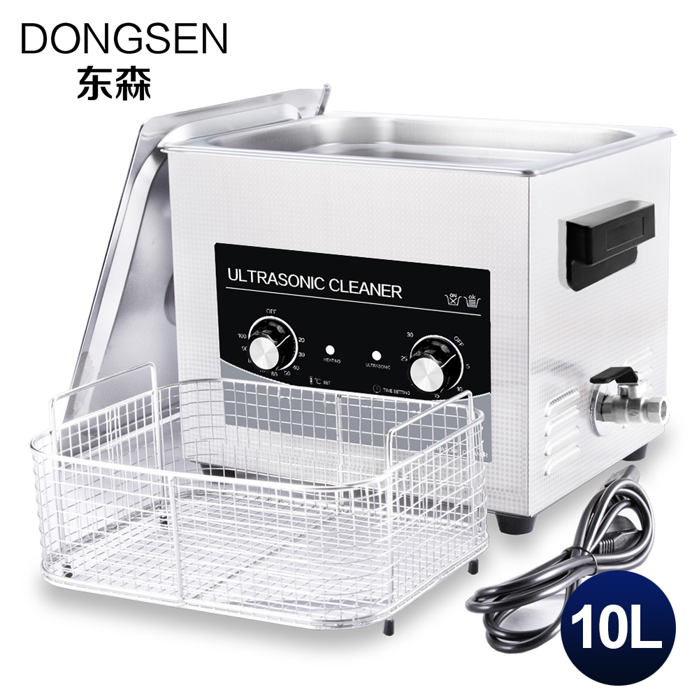 Industrial Ultrasonic Cleaner Bath 10L CE Electronic Parts Engine Auot Part DPF Mold Oil Rust Remove Lab Ultrasound Washer Tank цена