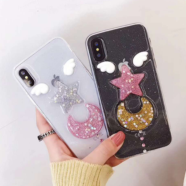 coque lune iphone x