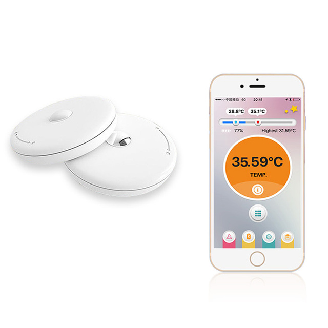 Bluetooth Baby Thermometer Intelligent Wearable Body Temperature