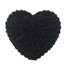 30 см Сердце розы цветы Святого Валентина романтическая искусственная Роза предложение для свадьбы Украшение DIY подарки