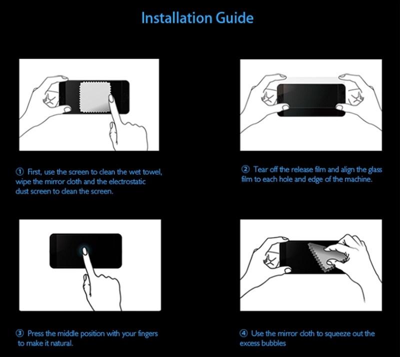 Cubierta completa de vidrio templado para iPhone 10