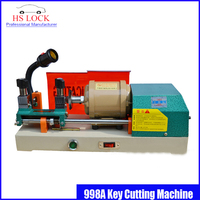 car key duplication machine 998A key cutting machine 220v 100w key machine locksmith tools