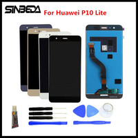 Sinbeda AAA Quality LCD And Touch Screen Digitizer For Huawei P10 Lite LCD Display Touch Screen