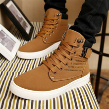 LAIDILANGTU 2018 autumn and winter new Sneakers mens shoes high-top retro casual tie trend high help movement boots
