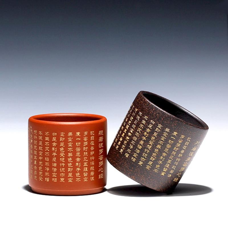 100 ML Yixing authentique violet argile thé tasses bureau maître expresso café tasse maison Vintage boisson Tieguanyin Puer thé cadeau