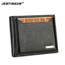New Hot Fashion Men Wallets Men s Short paragraph wallet Coin Purses Card holder Pack card