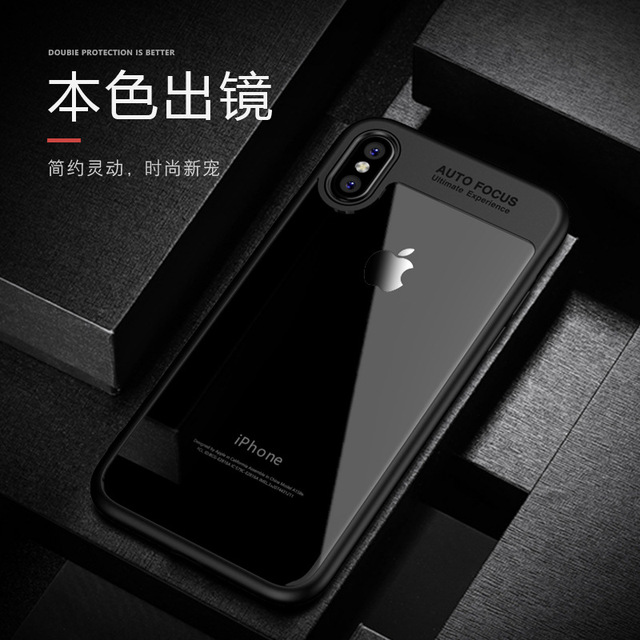 apple iphone 100. 100% original ipaky brand new arrival transparent silicone case for apple iphone x iphonex ultra-thin soft design in stock 100 l