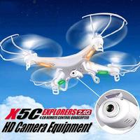 X5C 1 2 4GHz Mini RC Quadcopter Drone With Camera 4CH 6 Axis Gyro Remote Control