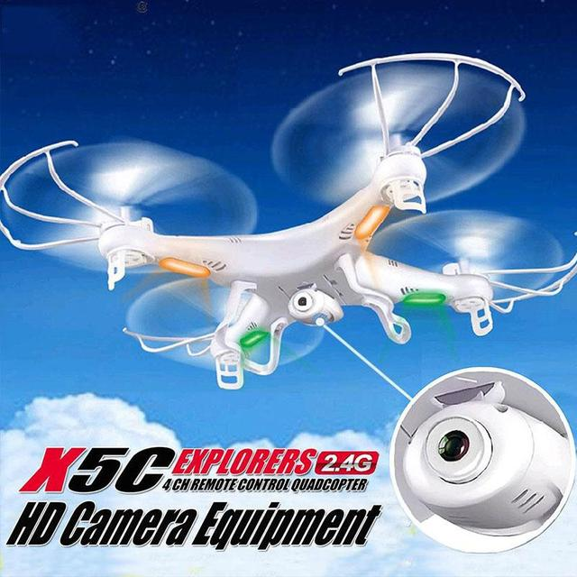X5C-1 2.4GHz Mini RC Quadcopter Drone with camera 4CH 6-Axis Gyro Remote Control Helicopter 300,000 pixel Load FPV Live Aerial